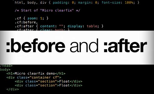 CSS :beforeشبه عنصر