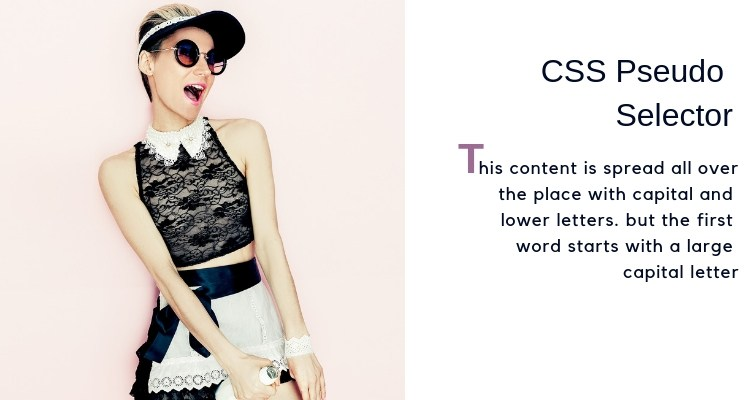 css-first-letter