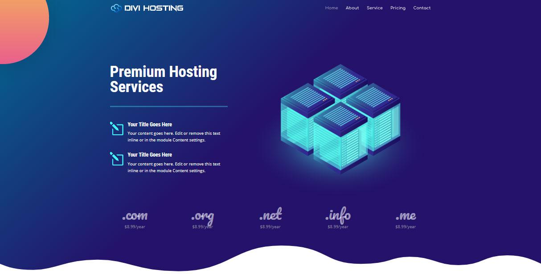 قالب وردپرس شرکت های هاستینگ و میزبانی وب ، طراحی و تولید وب سایت و اپلیکیشن